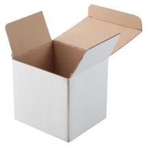 Karton Geschenkbox ''Three'' - weiss