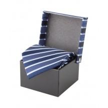 Krawatte ''Vivonne'' - dunkelblau
