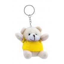 Schlüsselanhänger ''Teddy'' - gelb
