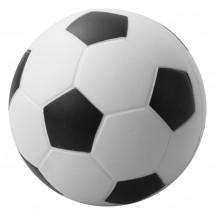 Antistress-Ball ''Kick'' - weiss/schwarz