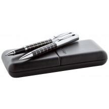 Kugelschreiber-Set ''Chinian'' - schwarz/silber