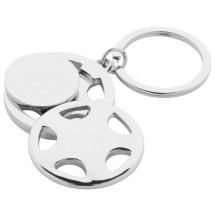 Schlüsselanhänger ''Dromo'' - silber