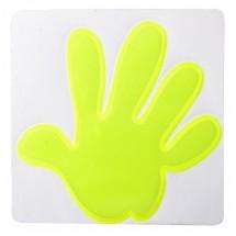 Reflektionssticker Hand ''Astana'' - gelb