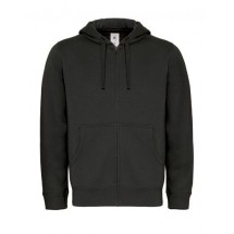 Hooded Full Zip Sweat / Men - Black