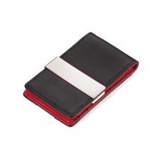Kreditkartenetui RED PEPPER CardSaver® - schwarz, rot