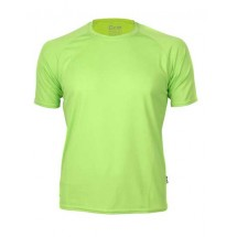 Mens Rainbow Tech Tee - Applegreen