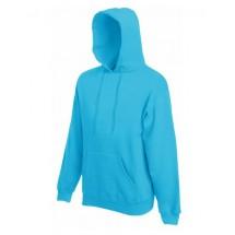 Classic Hooded Sweat - Azure Blue