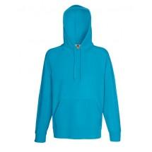 Lightweight Hooded Sweat - Azure Blue