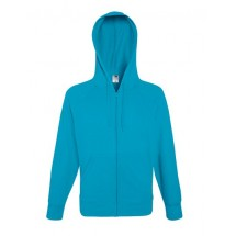 Lightweight Hooded Sweat Jacket - Azure Blue