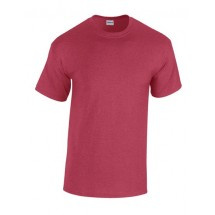 Heavy Cotton T- Shirt - Antique Cherry Red (Heather)