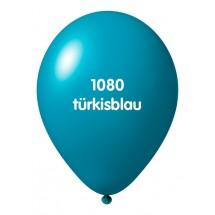 Luftballons ohne Druck-Türkisblau