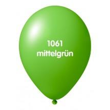 Luftballons ohne Druck-Mittelgrün