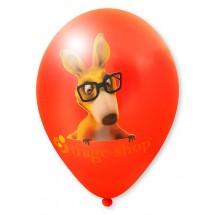 Luftballons mit High Quality Precision Print-Rot