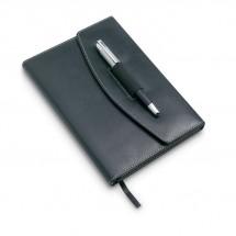Portfolio mit Kugelschreiber NOVA - schwarz