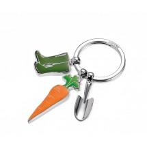 Schlüsselanhänger GARDEN LOVE - grün, orange