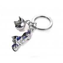 Schlüsselanhänger KEY CRUISING - blau, schwarz