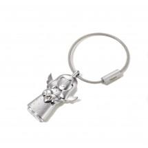 Schlüsselanhänger VALERIE - silber matt