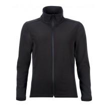 Womens Softshell Zip Jacket Race - Black