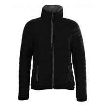 Womens Light Padded Jacket Ride - Black
