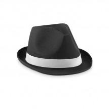 Farbiger Hut WOOGIE - schwarz