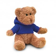 Teddybär mit Shirt JOHNNY - blau