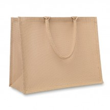 Jute Shopping Tasche BRICK LANE - beige
