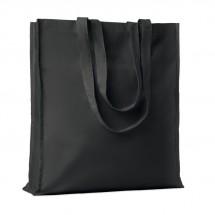 Baumwoll-Einkaufstasche PORTOBELLO - schwarz