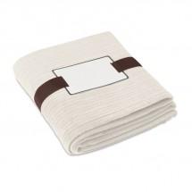 Fleece-Decke CAP CODE - beige