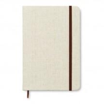 DIN A5 Notizbuch mit Canvas CANVAS - beige