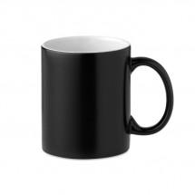 Kaffeebecher mit Farbwechsel SUBLIDARK - schwarz