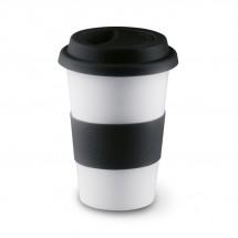 Keramikbecher TRIBECA - schwarz