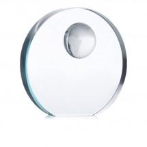 Glastrophäe MONDAL - transparent