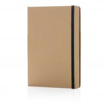 Nachhaltiges A5 Notizbuch, schwarz
