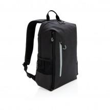 """Lima 15"""" RFID & USB Laptop-Rucksack - schwarz/grau"""