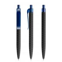 prodir QS03 Soft Touch PRT Push Kugelschreiber - Schwarz-Sodalithblau