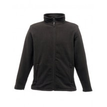 Micro Full Zip Fleece - Black