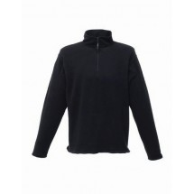 Micro Zip Neck - Black