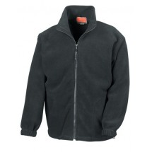 Active Fleece Jacket - Black