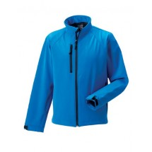 Softshell-Jacket - Azure Blue