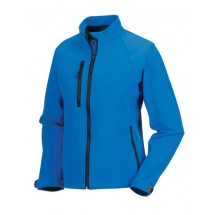 Ladies Softshell-Jacket - Azure Blue