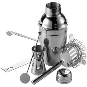 Cocktailshaker-Set, 5 tlg.