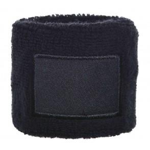 Frottier Armschweißband 6cm mit Label