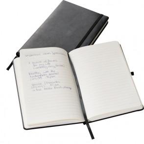 Notizbuch A5-Format, schwarz