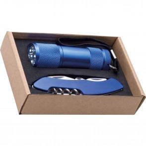 Set Taschenlampe & Taschenmesser Dover