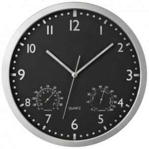 Wanduhr weisses Display