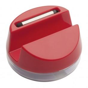 Handyständer mit Kopfhörern REFLECTS-AALBORG RED