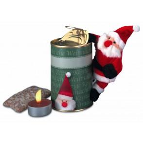 Magnetischer Weihnachtsmann in der Dose