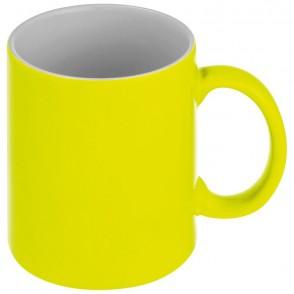 Kaffeetasse in Neonfarben