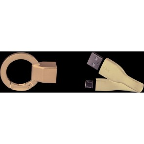 Schlüsselanhänger Micro USB Kabel
