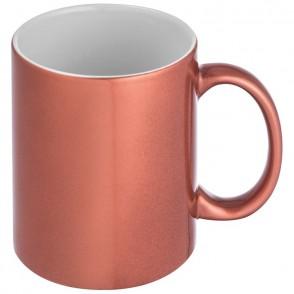 Tasse mit glänzender Ummantelung